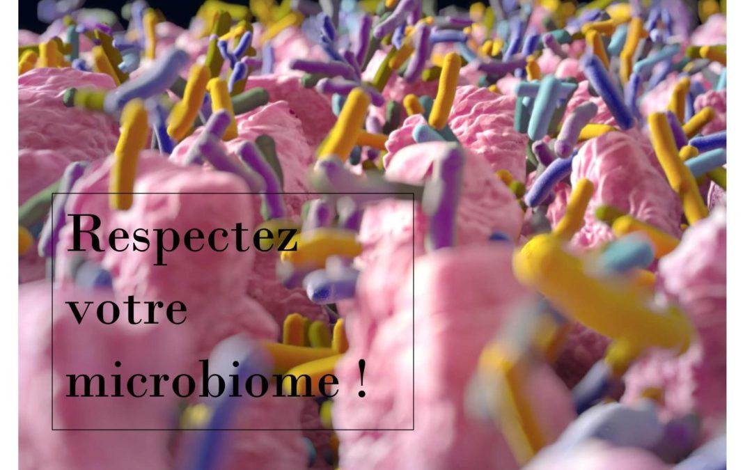 Respectez votre microbiome